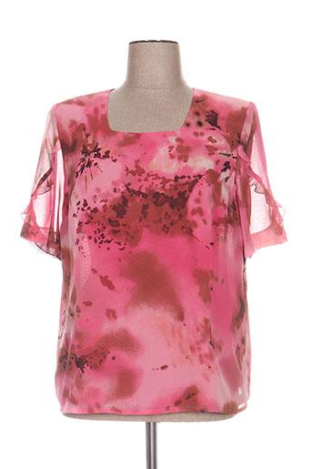coutureine chemises femme de couleur rose