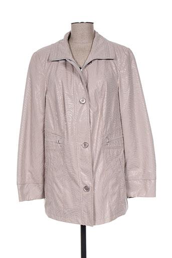 lebek vestes femme de couleur gris