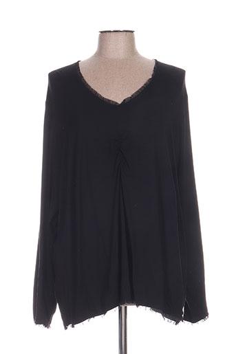 jean biolay t-shirts femme de couleur noir