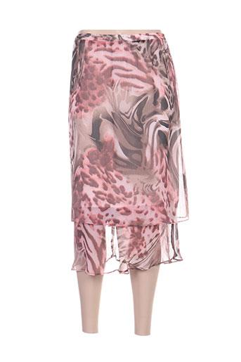 paloma jupes femme de couleur rose