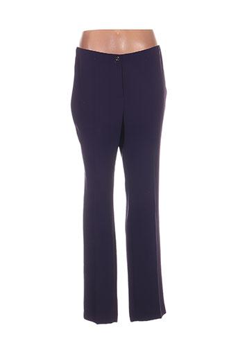 sommermann pantalons femme de couleur violet