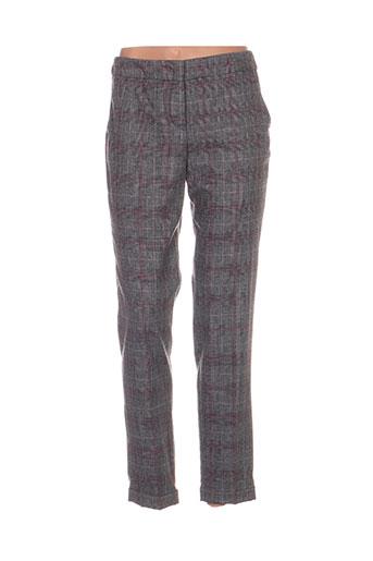 Pantalon 7/8 gris GERRY WEBER pour femme