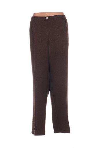 Pantalon casual marron CPH pour femme