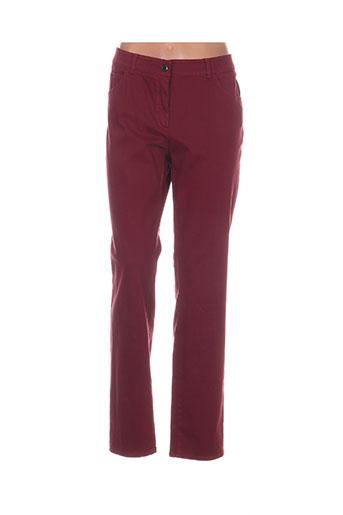Pantalon casual rouge GERRY WEBER pour femme