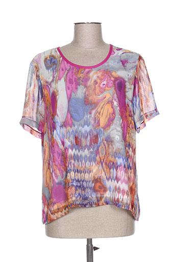 paloma chemises femme de couleur violet
