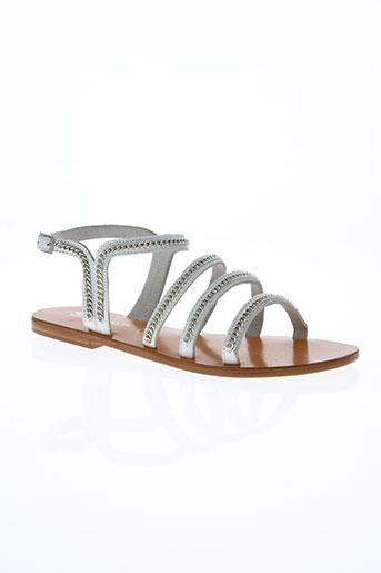 ilario ferucci chaussures femme de couleur blanc