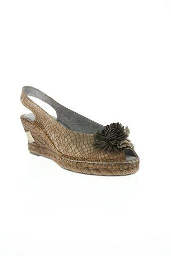 bruma chaussures femme de couleur marron