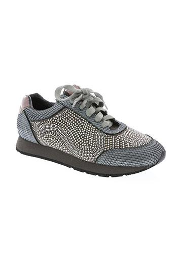 alma en pena chaussures femme de couleur gris