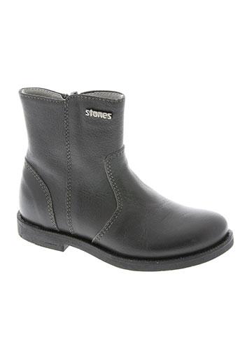 stones and bones chaussures fille de couleur gris
