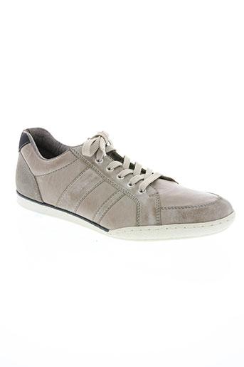rieker chaussures homme de couleur beige
