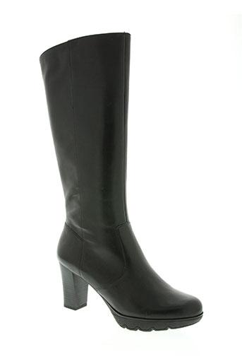 tamaris chaussures femme de couleur noir