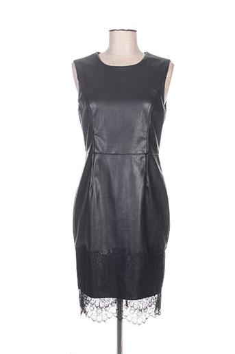 Robe courte noir DROLE DE COPINE pour femme
