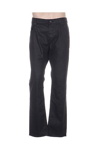 guess pantalons homme de couleur noir