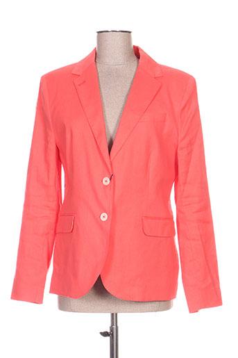 gant vestes femme de couleur orange