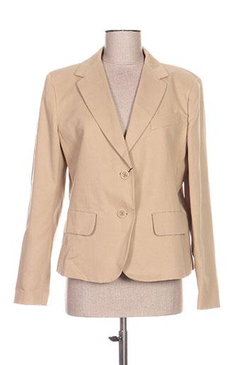 weekend vestes femme de couleur beige