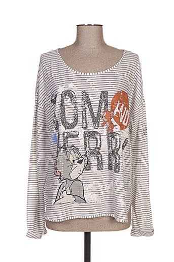 princess t-shirts femme de couleur gris
