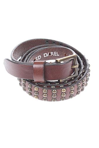 gerard darel accessoires unisexe de couleur marron