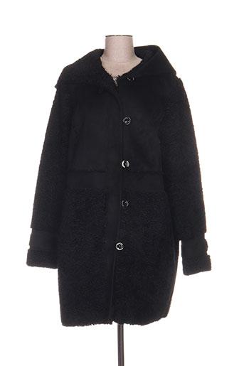 beaumont manteaux femme de couleur noir