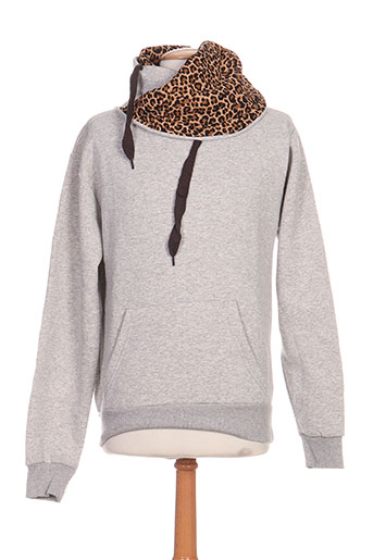 Sweat-shirt gris UNITED MARSHALL COLLEGE pour garçon