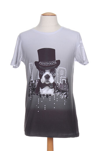 armita t-shirts homme de couleur gris