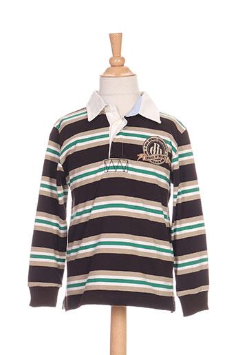girandola t-shirts garçon de couleur noir