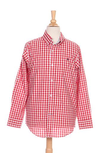 girandola chemises garçon de couleur rouge
