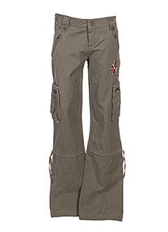 Pantalon casual vert GIRANDOLA pour fille
