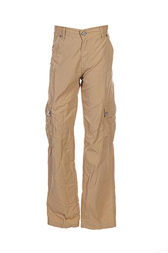 girandola pantalons garçon de couleur beige