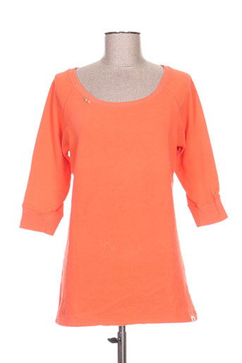 Sweat-shirt orange AMERICAN OUTFITTERS pour femme