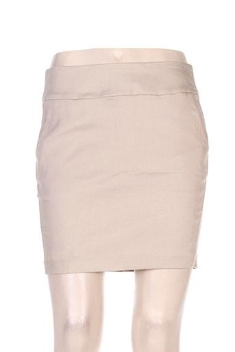 mexx jupes femme de couleur beige