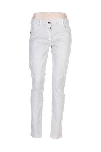 Pantalon casual gris AMERICAN OUTFITTERS pour femme