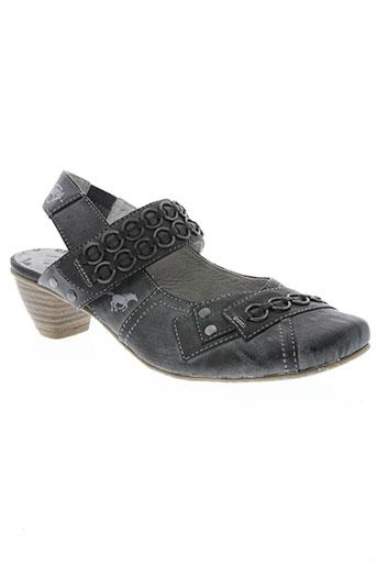 mustang chaussures femme de couleur gris