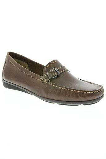 daniel hechter chaussures femme de couleur marron