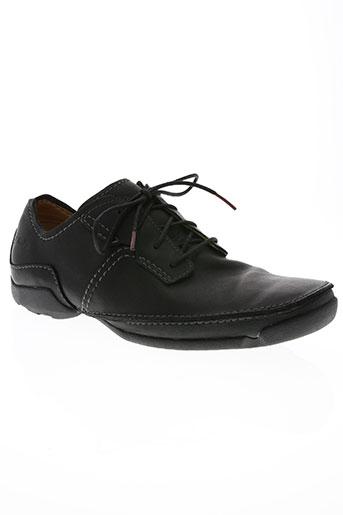 clarks chaussures homme de couleur noir