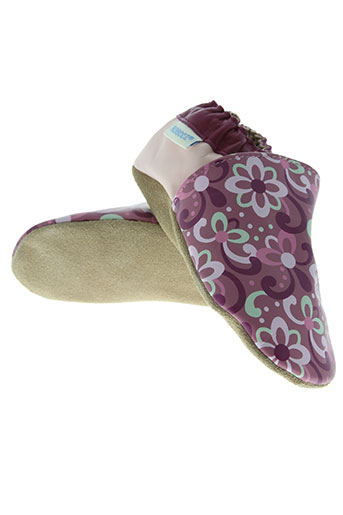 robeez chaussures fille de couleur rose