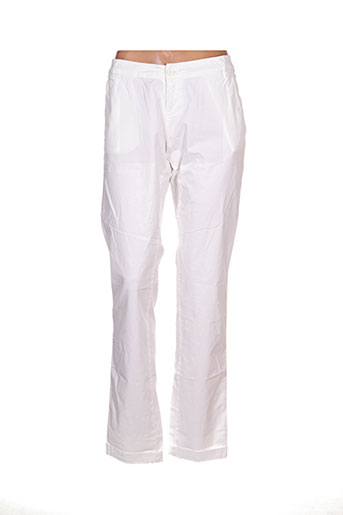 Pantalon casual blanc TEDDY SMITH pour femme