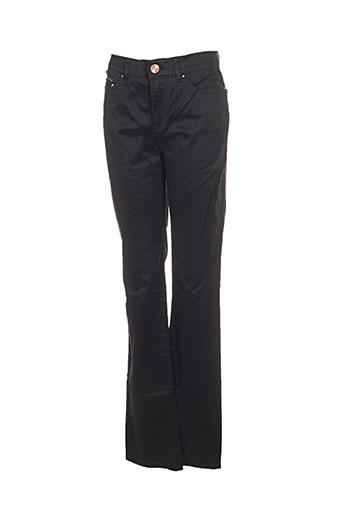 Pantalon casual noir ESPRIT pour femme