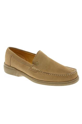 sledgers chaussures homme de couleur beige