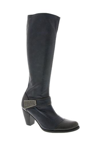 fugitive chaussures femme de couleur bleu