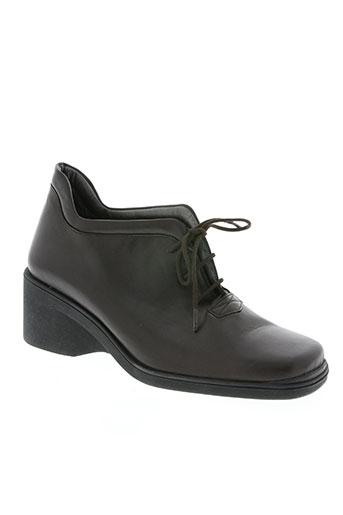 jean louis kraven chaussures femme de couleur marron
