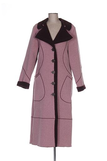 rosa rosam manteaux femme de couleur rose