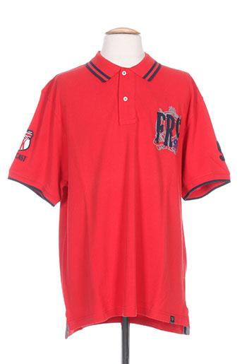 forecast t-shirts homme de couleur rouge