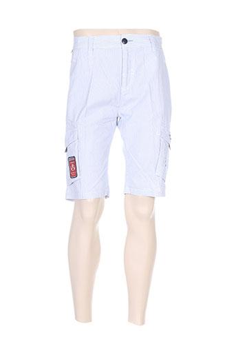 forecast shorts / bermudas homme de couleur bleu