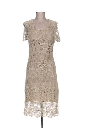 choklate robes femme de couleur beige