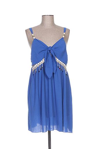 mark's ther chemises femme de couleur bleu