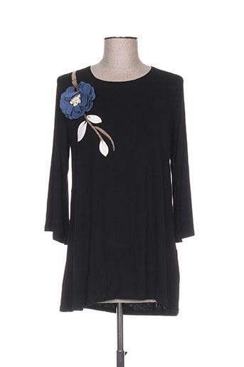 mamatayoe chemises femme de couleur noir