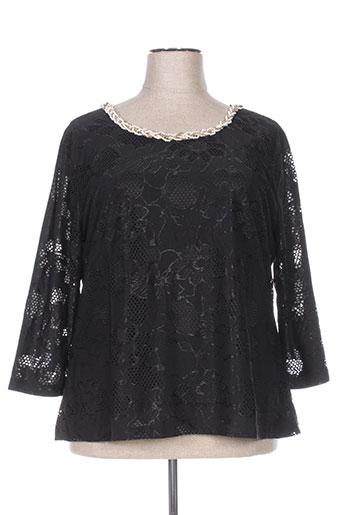 halo paris chemises femme de couleur noir