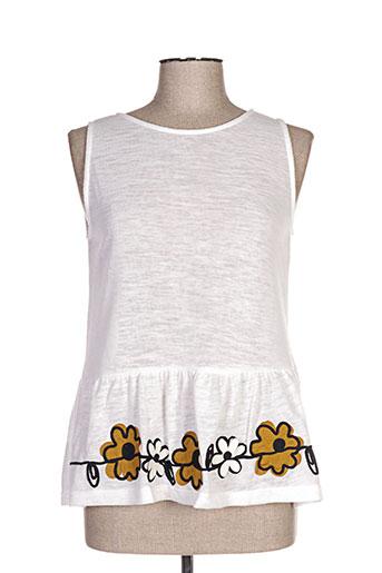 mamatayoe chemises femme de couleur blanc