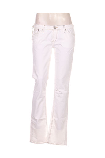 rwd jeans femme de couleur blanc