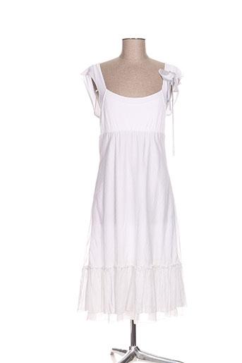 coyote girls robes femme de couleur blanc